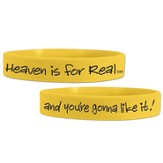 Heaven is For Real Rubber Wristband