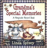 Grandma's Special Memories: A Keepsake Record Book