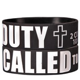 Called to Duty Silicone Bracelet
