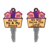As for Me and My House Key Cover