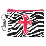 Zebra Cross Coin Purse
