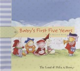 Baby's First Five Years: A Baby Record Book