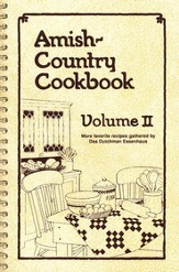 Amish-Country Cookbook: Volume 2 (Spiral Edition)