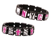 NYC Tile Bracelets, Set of 2