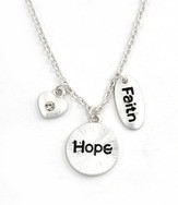 Charm Necklace, Faith, Hope, Love