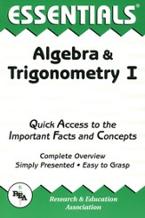 Essentials - Algebra & Trigonomentry 1