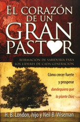 El Corazón de un Gran Pastor, The Heart of a Great Pastor