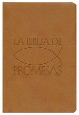 RVR Biblia de promesas, Imitacion Piel, Marron; RVR Promise Bible, Imitation Leather, Tan