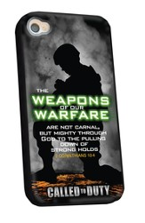 Weapons Of Our Warfare iPhone 4/4S Case