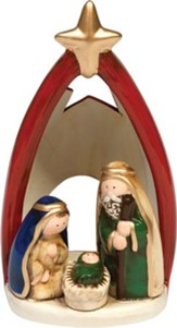 Rejoice Holy Family Figurine