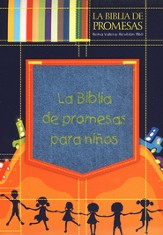 La Biblia de Promesas para Niños RVR 1960, Denim C/Cremallera  (RVR 1960 Promise Bible for Children, Denim w/Zipper)