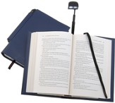 Periscope(R) Bookcover with Light, Paperback, Blue