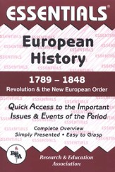 Essentials - European History: 1789 to 1848