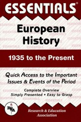 European History 1935 to Present