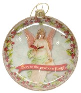 Glory to the Newborn King, Glass Ornament