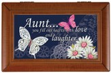 Aunt, Fill Our Hearts With Love and Laughter Music Box
