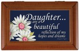 Daughter, You Are A Beautiful Reflection Music Box