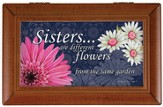 Sisters, Different Flowers Music Box