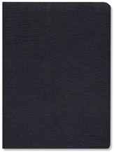 NIV Life Application Study Bible, Large Print, Bonded leather, Navy blue 1984