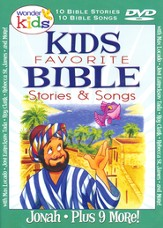 Kids Favorite Bible Stories & Songs: Jonah