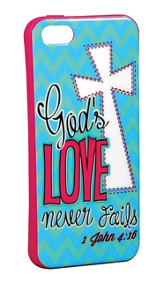 Love Never Fails iPhone 5/5S Case