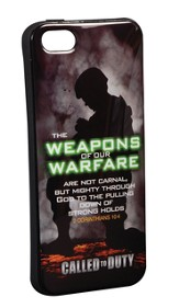 Weapons Of Our Warfare iPhone 5/5S Case