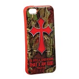 Be Still and Know, Camo Cross iPhone 5/5S Case