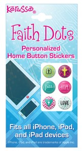 Faith Hope Love, Faith Dots Stickers