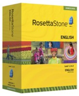 Rosetta Stone American English Level 1,2 & 3 Set with Audio Companion Homeschool Edition, Version 3