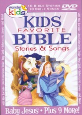 Kids Favorite Bible Stories & Songs: Baby Jesus