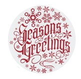 Season's Greetings 2.5 Labels, 100