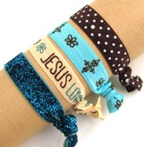Jesus Loves You, Stretch Tie Bracelets