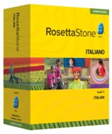 Rosetta Stone Italian Level 1 with Audio Companion Homeschool Edition, Version 3