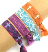 God's Love, Stretch Tie Bracelets