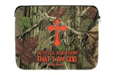 Be Still and Know, Camo Cross, iPad Case