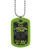 Thy Kingdom Come, Tag Necklace