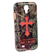 Camo Cross, Galaxy 4 Phone Case