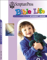 Scripture Press 2s & 3s Bible Life Student Book, Winter 2015-16