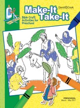 Bible-in-Life Preschool Make It Take It, Spring 2016