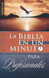 La Biblia en un Minuto para Profesionales  (One-Minute Pocket Bible for Business Professionals)