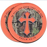 Camo Cross, Be Still and Know, Auto Coaster