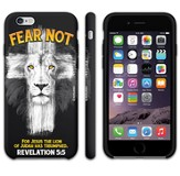 Fear Not, Lion Cross, iPhone 6 Case