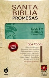 Biblia de Promesas NTV, Ed. Mujeres, Piel especial, NTV Promise Bible, Women's Edition, Imitation Leather