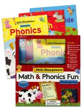Math & Phonics Fun: Kindergarten