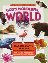 God's Wonderful World Sticker Book