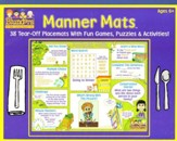 Manner Mats: 38 Tear-Off Placemats With Fun Games, Puzzles & Activities