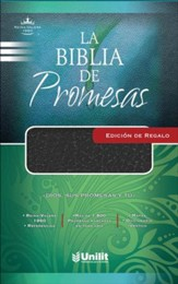La Biblia de Promesas Ed. Regalo (Negro), Promise Bible Gift and Award Imitation Leather (Black)