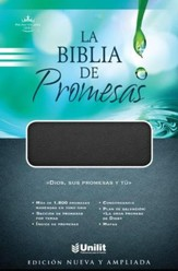 La Biblia de Promesas (Negro), Promise Bible Imitation Leather (Black)