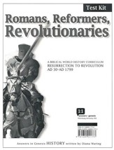 Romans, Reformers, Revolutionaries: Test Kit