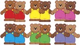 Linking Bears Classic Accents Variety Pack (Large Size)